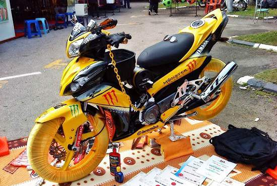 Modifikasi Jupiter Z Racing
