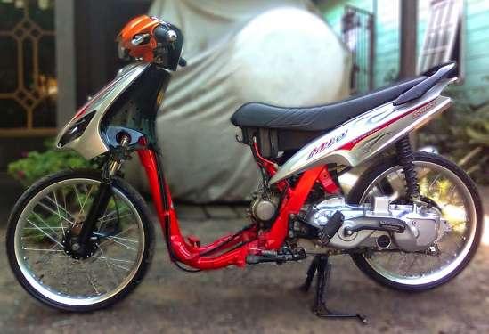 Modifikasi Mio Drag Bike