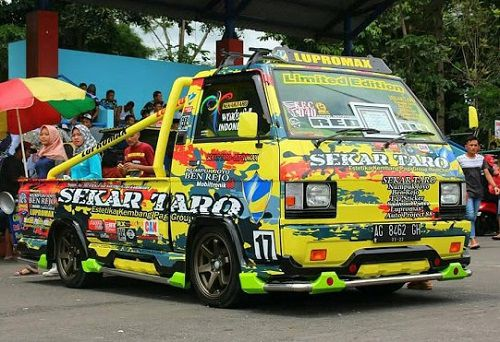 Modifikasi Pick Up L300 Ceper