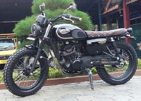 Modifikasi W175 Scrambler