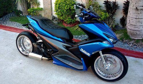 Modifikasi Yamaha Aerox Ceper