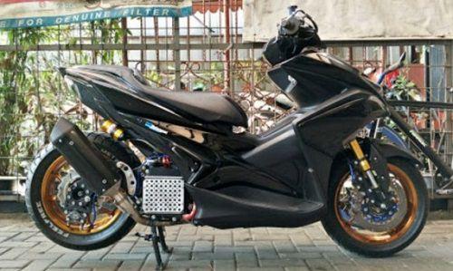 Modifikasi Yamaha Aerox Racing