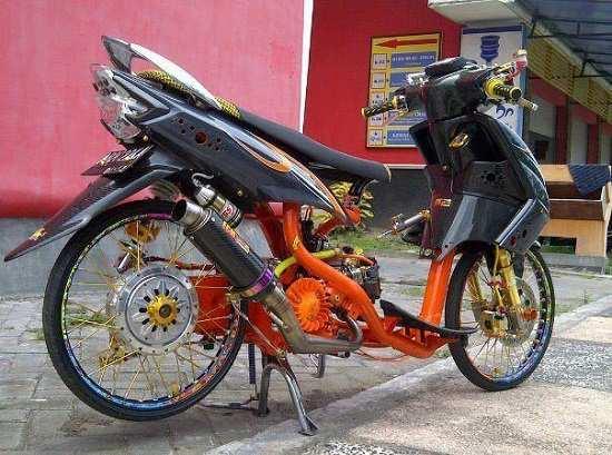 Modifikasi Yamaha Mio Thailook