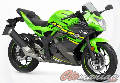 Harga Kawasaki Ninja 125 Terbaru 2018, Review & Spesifikasi