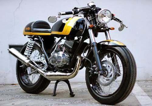 """Modifikasi Yamaha RX King """"Cafe Racer"""""""