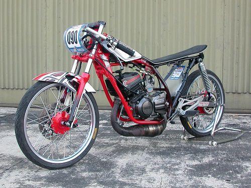 """Modifikasi Yamaha RX King """"Drag"""""""