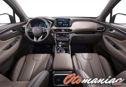Interior New Hyundai Santa FE 2018