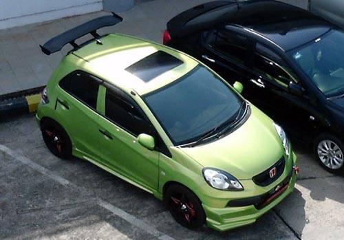 Modifikasi Honda Brio Sunroof