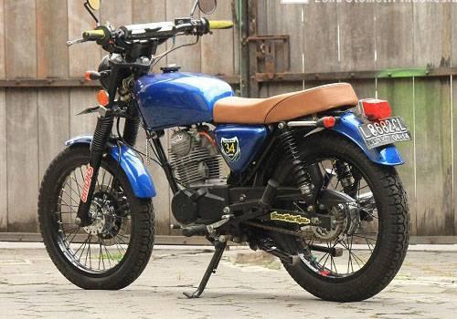 Modifikasi Honda GL 100