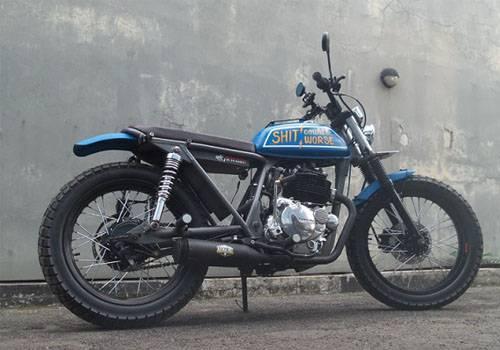 Modifikasi Kawasaki Binter Merzy