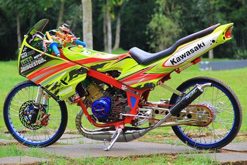 Modifikasi Kawasaki Ninja RR Terbaru dan Terkeren 2018
