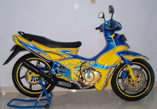 Modifikasi Suzuki Satria 110