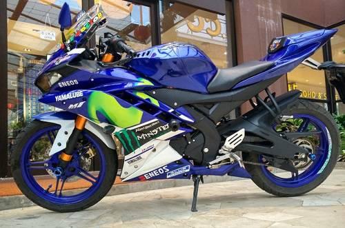 Modifikasi Yamaha R15 MotoGP