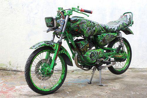 "Modifikasi Yamaha RX King ""Airbrush"""
