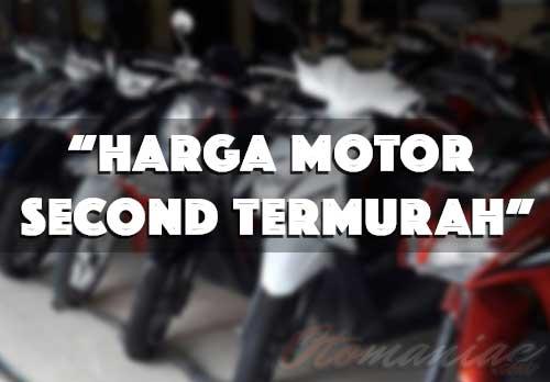 Harga Motor Second