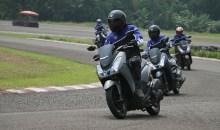 Yamaha Adakan Test Ride Resmi dan Rilis Harga Yamaha Lexi 125