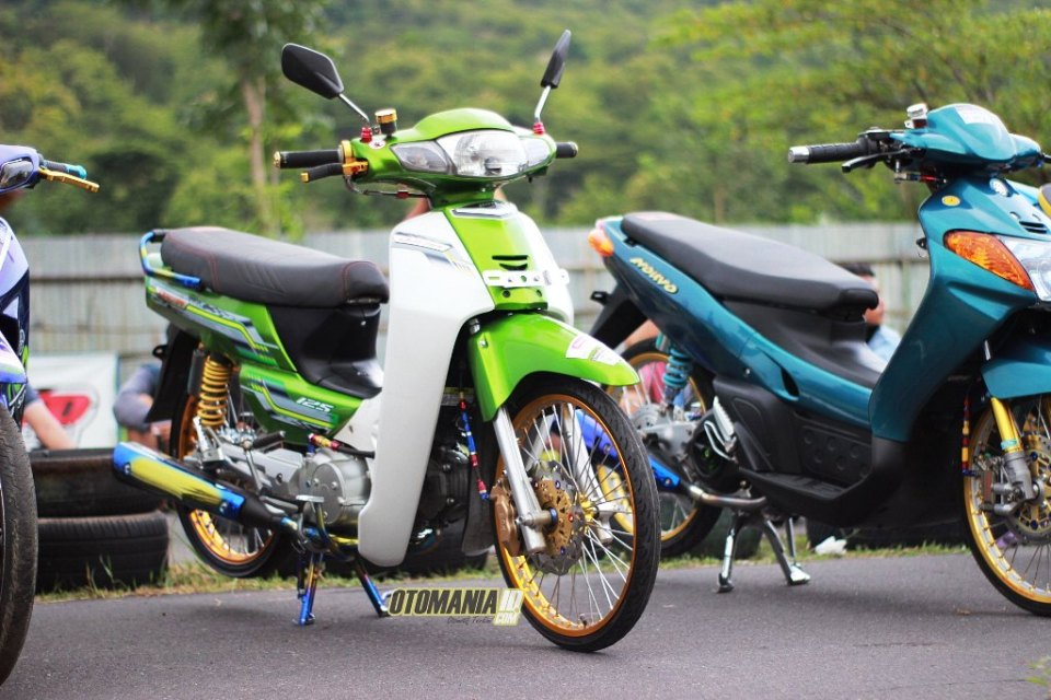 Modifikasi Honda Kirana 125 Ala Mothai Otomaniaidcom Drag Bike
