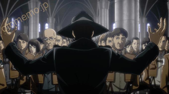 進撃の巨人Season 3 第47話「友人」NHKアニメあらすじ、ネタバレ、感想