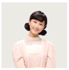 福子の親友 鹿野 敏子(かの としこ)[松井 玲奈]