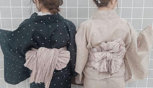 【インスタ映え】体型別似合うレディース浴衣の選び方、着付け【通販購入レンタルどっちがいい?】