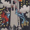 タロットカード「16:塔」の意味と解釈【恋愛・復縁・片思い占い方法】