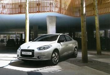 Renault Fluence Z.E. Ön