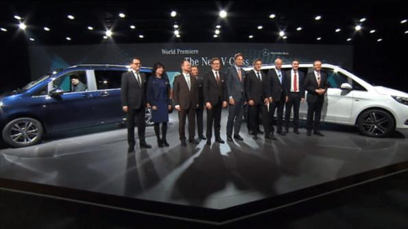 Mercedes-Benz V-Serisi Geliştirme Ekibi