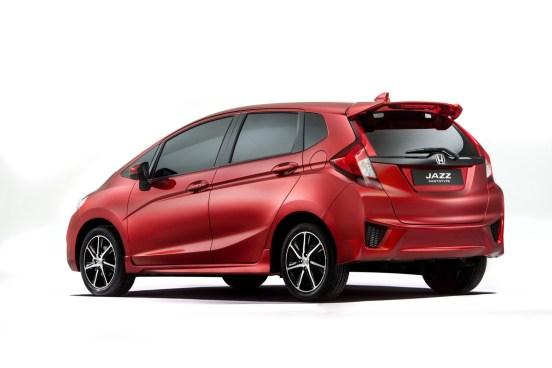 Honda Jazz Prototipi Arka