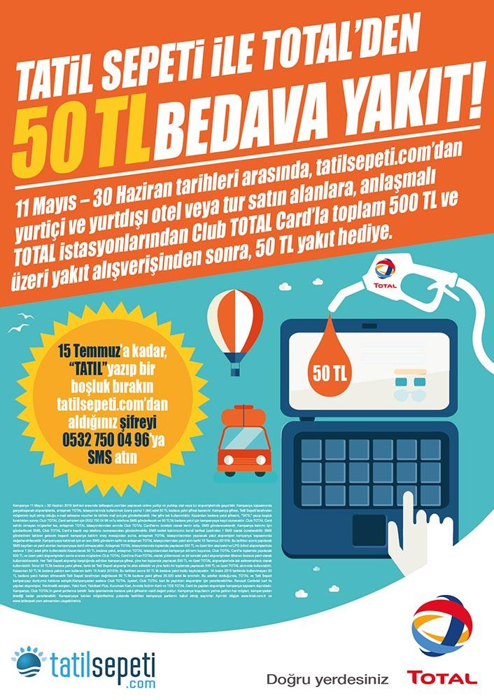 Total ve Tatil Sepeti İkilisi Kazandırıyor | Otomobilkolik