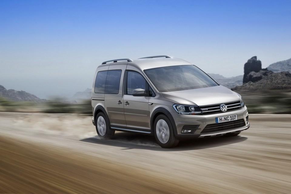 Volkswagen Caddy Alltrack raziye Çıkıyor | Otomobilkolik