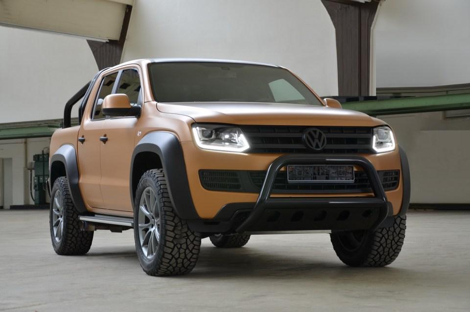 MTM İmzalı Volkswagen Amarok V8 | Otomobilkolik