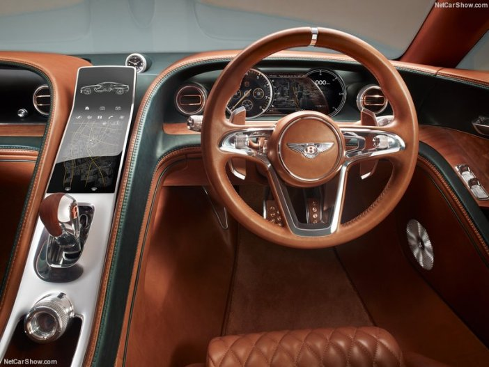 Bentley dengan EXP 10 Coupe 6 Speed
