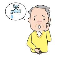 意図せぬ尿漏れに悩んでいる男性