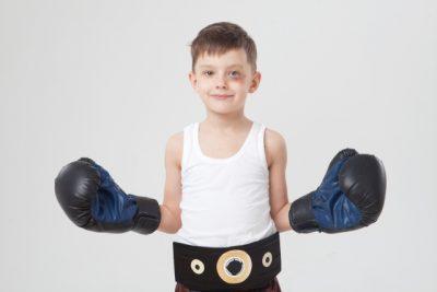 叩き上げのボクサーのイメージ
