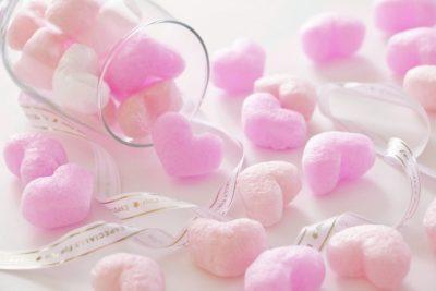 やわらかなピンクのイメージ