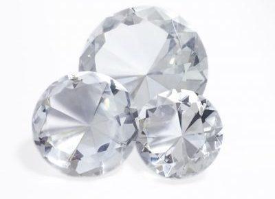 ダイヤモンドは永遠の輝き