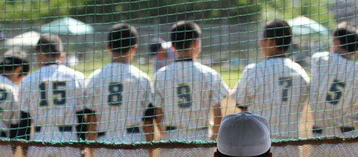 坊主頭の野球少年の画像