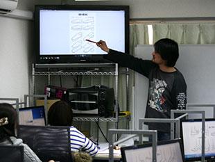 基礎を学ぶ講座と個別指導の添削塾のイメージ