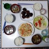 筋肉を増やしたい人のための 食事メニュー3  炒り豆腐・椎茸の肉詰