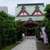 御朱印集め 八王子の街の中に鎮座する八幡八雲神社