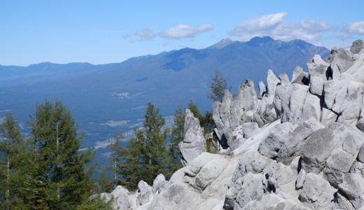 南アルプス楽々散策 日向山 アプローチが楽、1時間30分で花崗岩の別世界へ、南アルプスや八ヶ岳の絶景も楽しめます!!