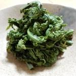 [レシピ]山菜こごみのごま和えの作り方