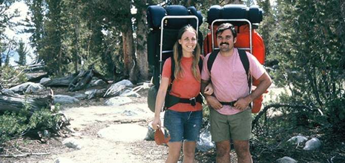 創業者ウェイン・グレゴリーと妻スージー 画像引用:http://www.gregory.jp/
