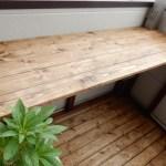 ベランダにDIYでテーブルを作る!おしゃれなカフェにまた一歩近づいた