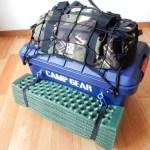 キャンプツーリングのパッキング|初めて行く北海道ツーリングの荷物を紹介するよ!