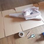らくらくメルカリ便を使った梱包の方法/初めてのメルカリで売れた椅子を梱包してみた!