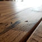 木材を古く見せる方法で男前なテーブル作りに挑戦!
