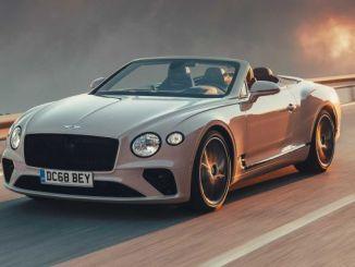 2020 Bentley Continental GT Cabriolet första körning