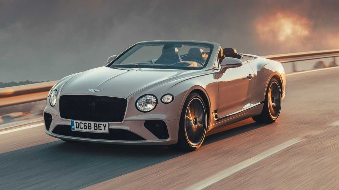Bentley continental gt convertible first drive