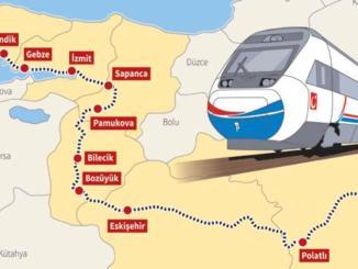 Ankara Isztambul nagysebességű vonat
